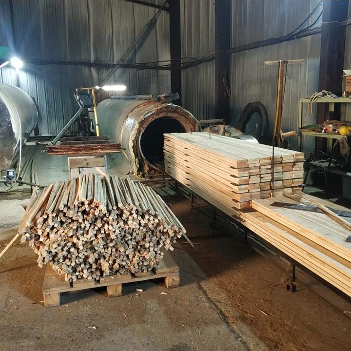 Термическая модификация дерева